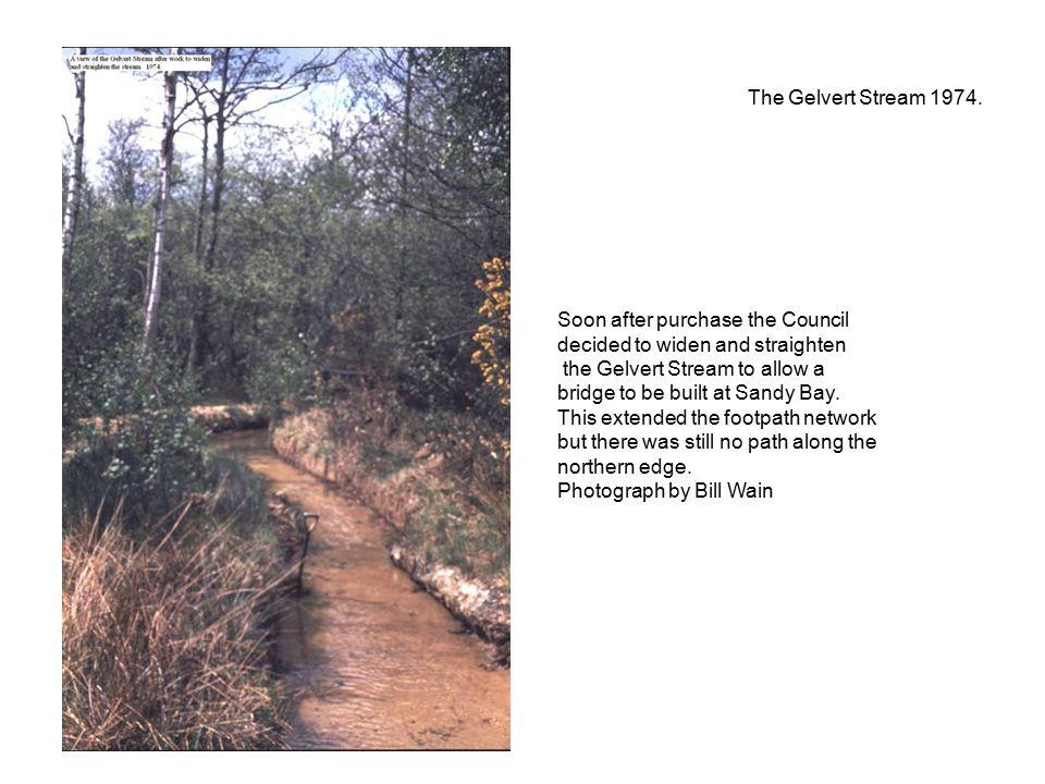 The Gelvert Stream 1974.