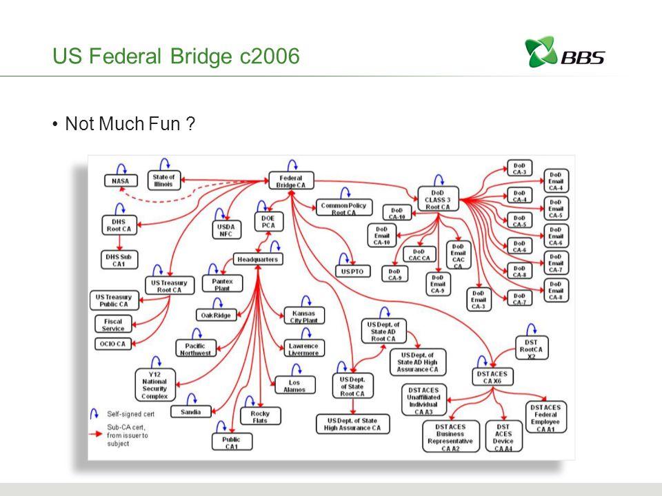 US Federal Bridge c2006 Not Much Fun