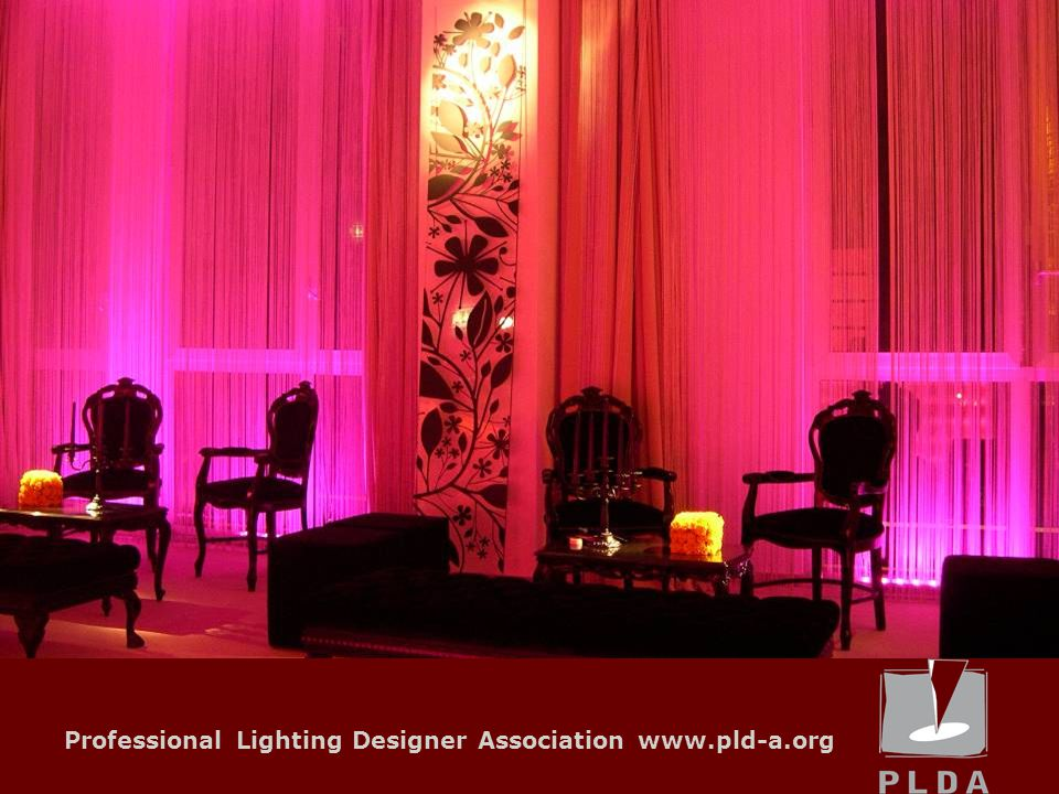 Professional Lighting Designer Association www.pld-a.org OUTLOOK FOR DEVELOPMENT IN LOCAL UNITS