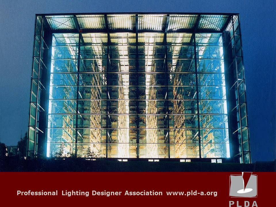 Professional Lighting Designer Association www.pld-a.org Local Units Remark In many countries the profession of Lighting Designer is not recognized as it should, nor is the intellectual effort appreciated