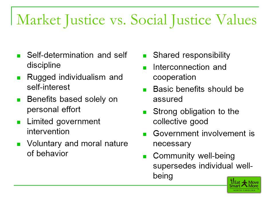 Market Justice vs.