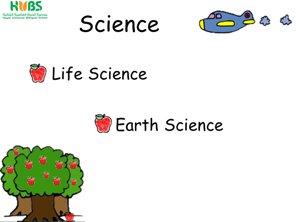 Science Earth Science Life Science