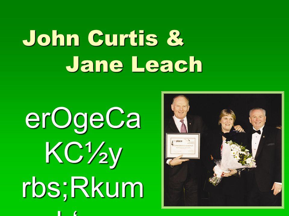 John Curtis & Jane Leach erOgeCa KC½y rbs;Rkum h'un