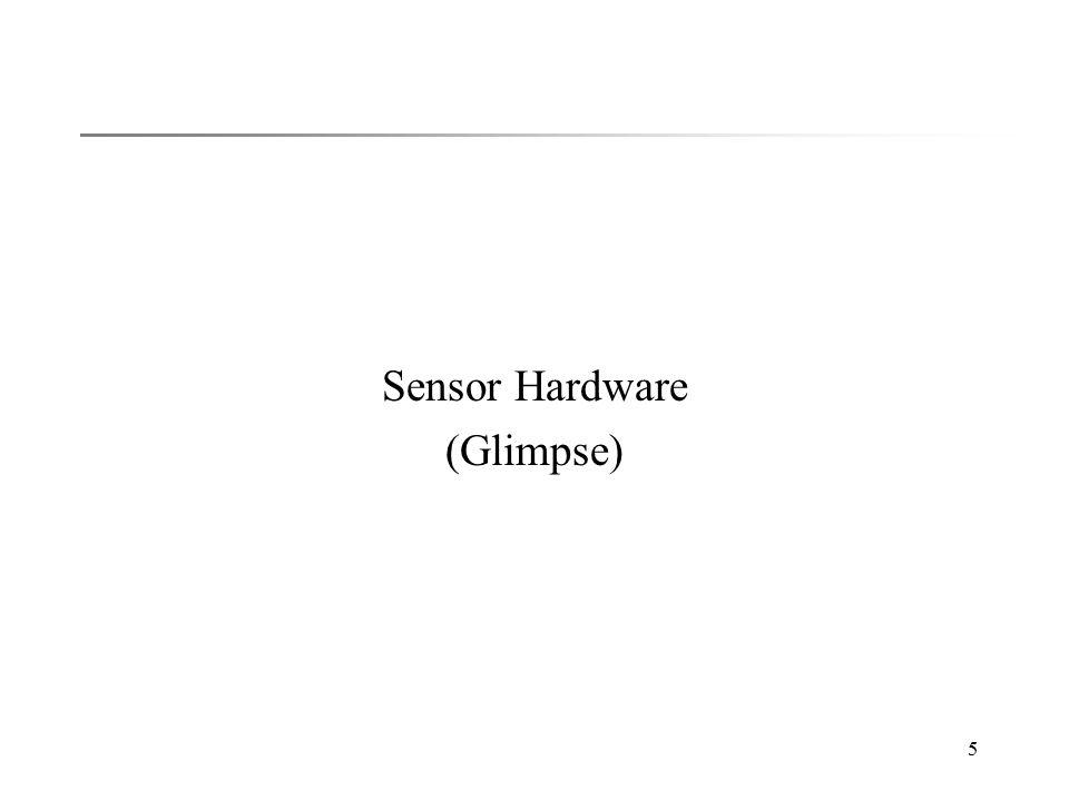5 Sensor Hardware (Glimpse)