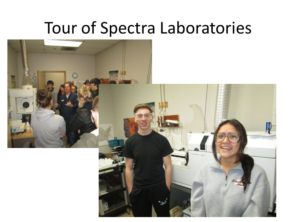 Tour of Spectra Laboratories