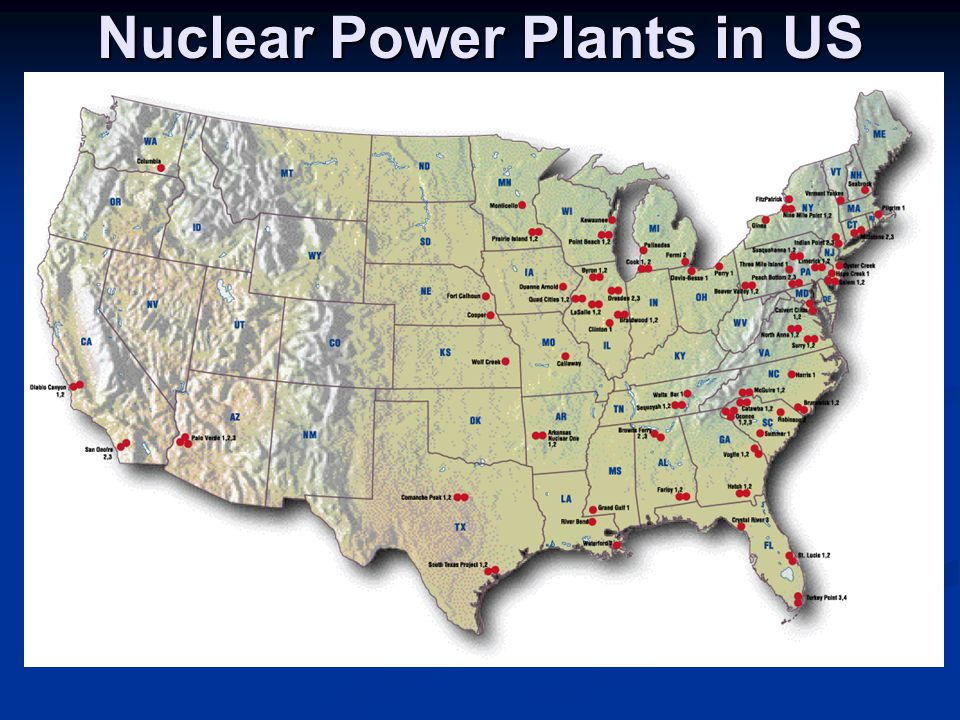 Nuclear Power Plants in US