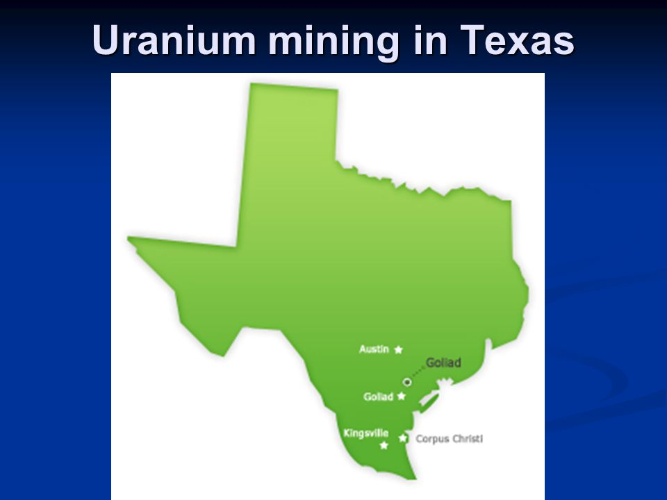 Uranium mining in Texas
