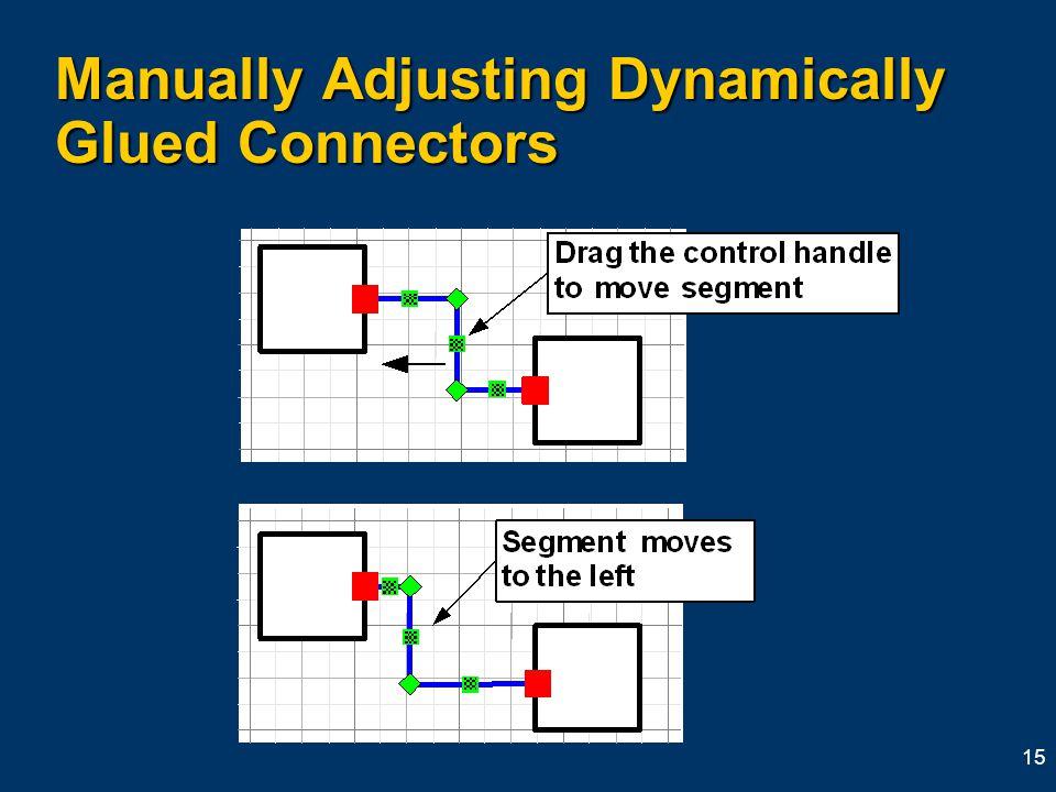 15 Manually Adjusting Dynamically Glued Connectors