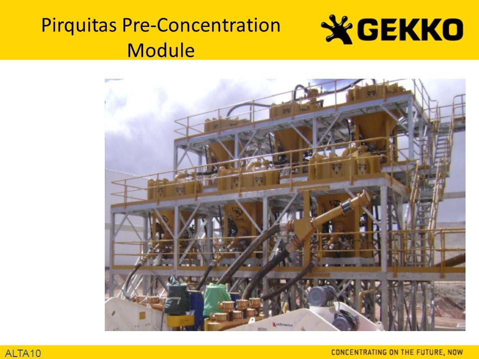 Pirquitas Pre-Concentration Module ALTA10