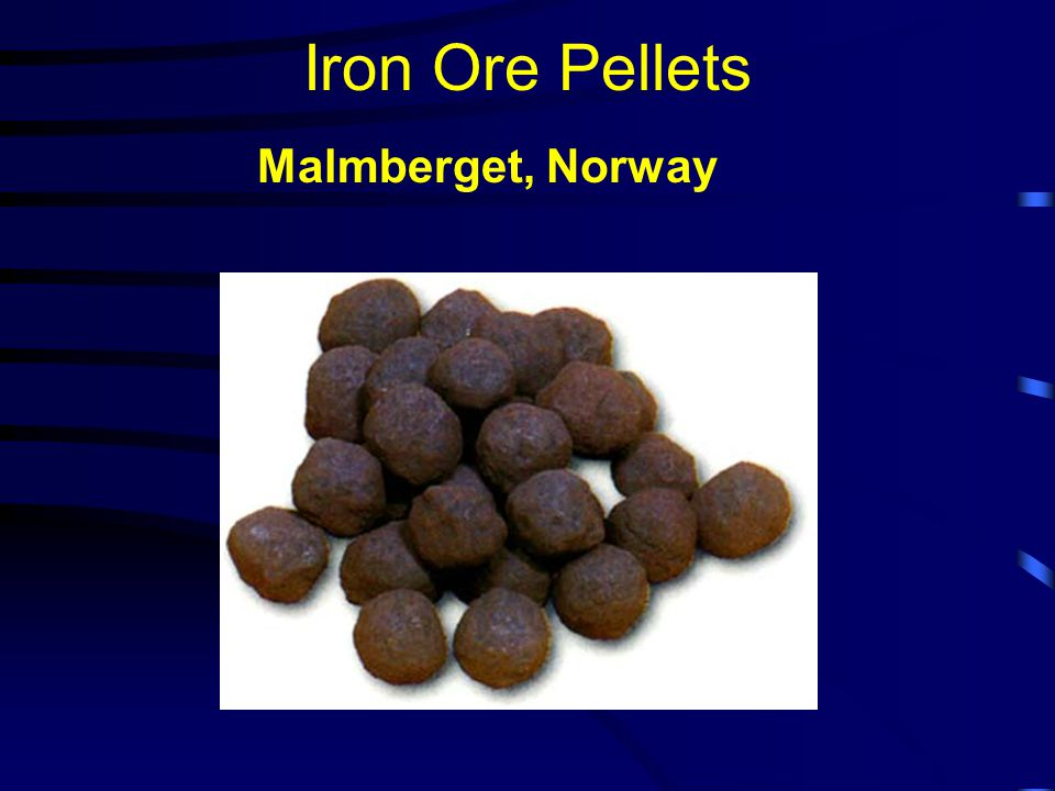 Iron Ore Pellets Malmberget, Norway