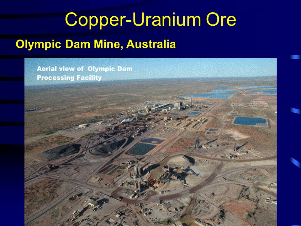 Copper-Uranium Ore Olympic Dam Mine, Australia
