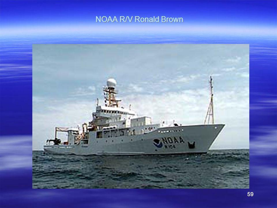 59 NOAA R/V Ronald Brown