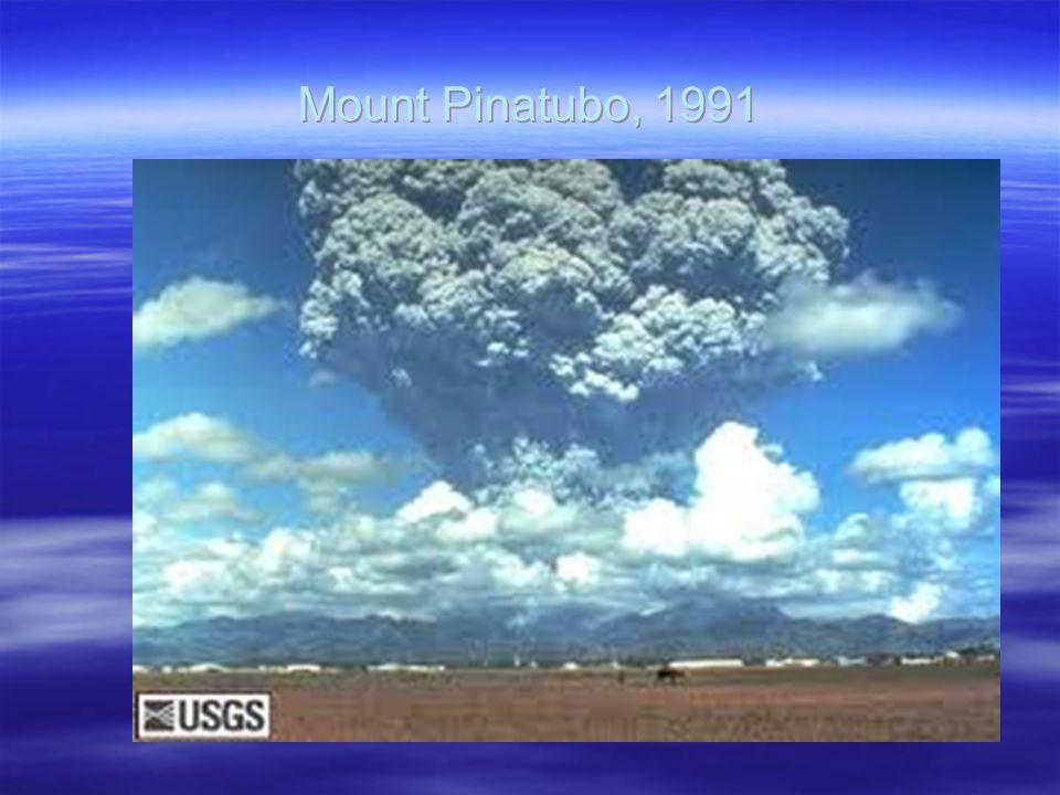 Mount Pinatubo, 1991