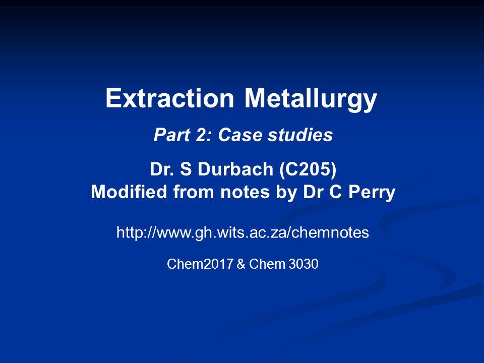 Electrowinning of iron Step 4: Electrolysis.