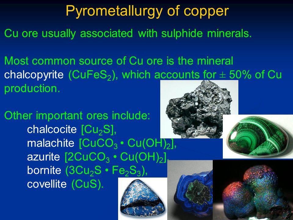 Hydrometallurgy of copper 3.