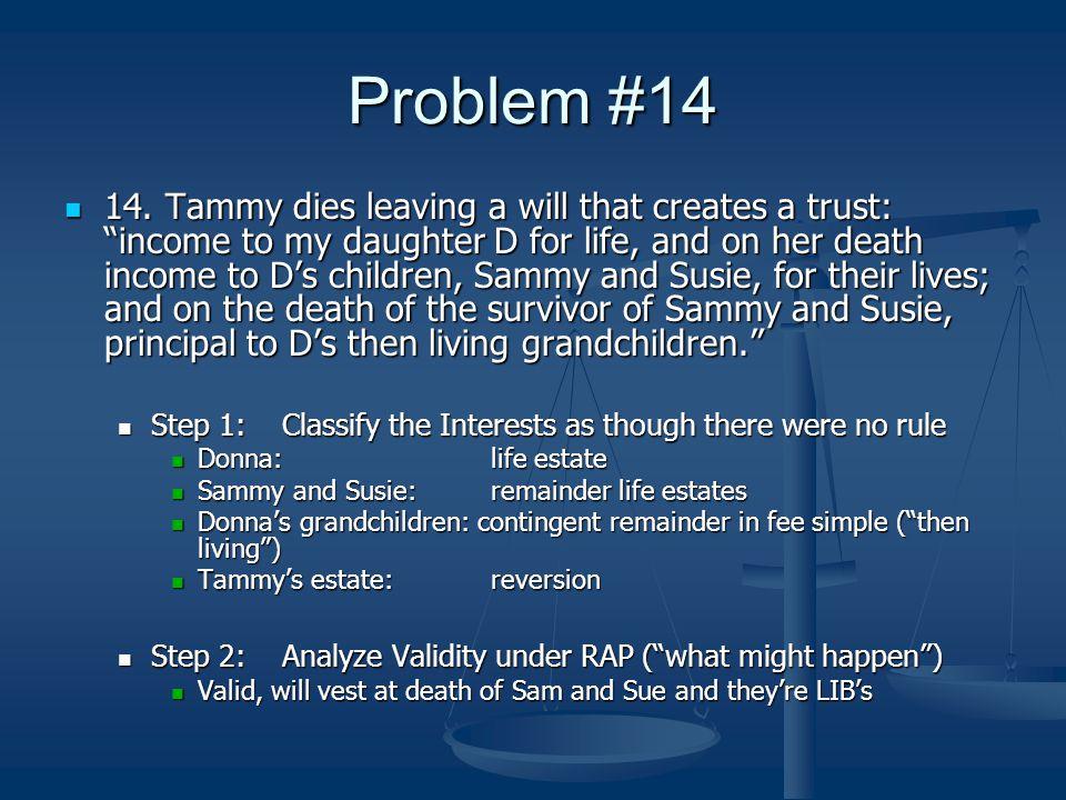 Problem #14 14.
