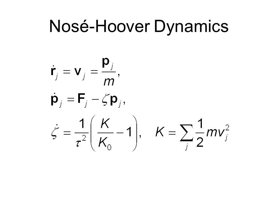 Nosé-Hoover Dynamics