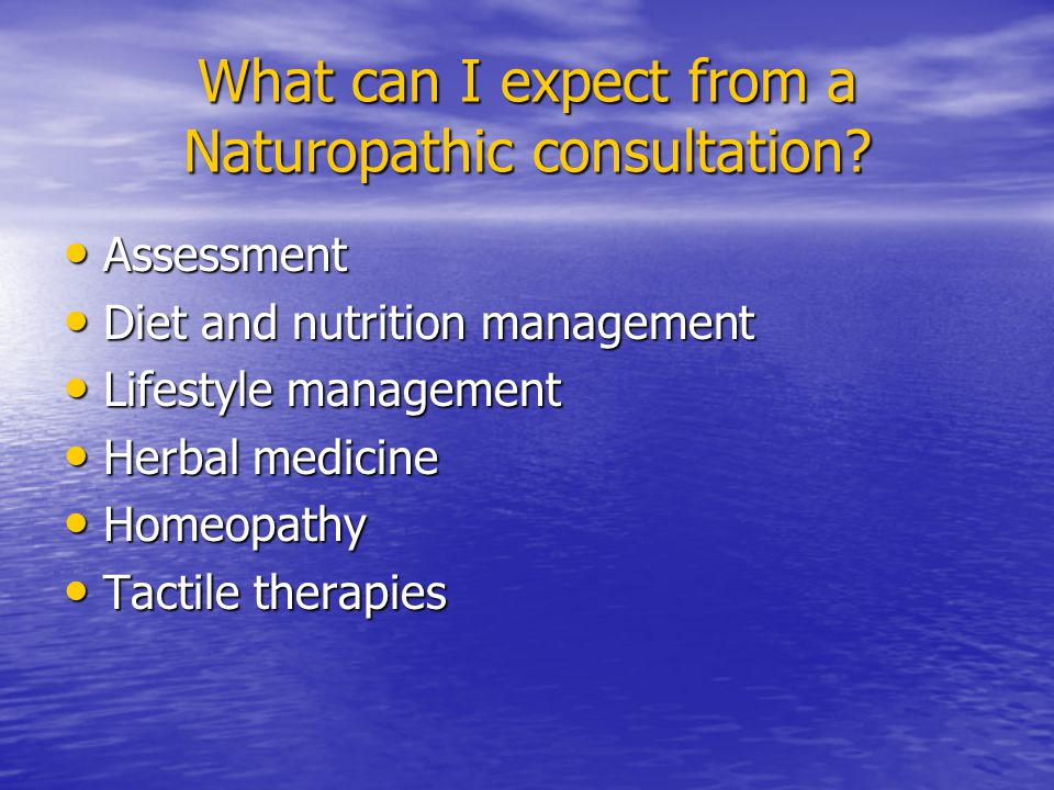 Where can I find a Naturopath.