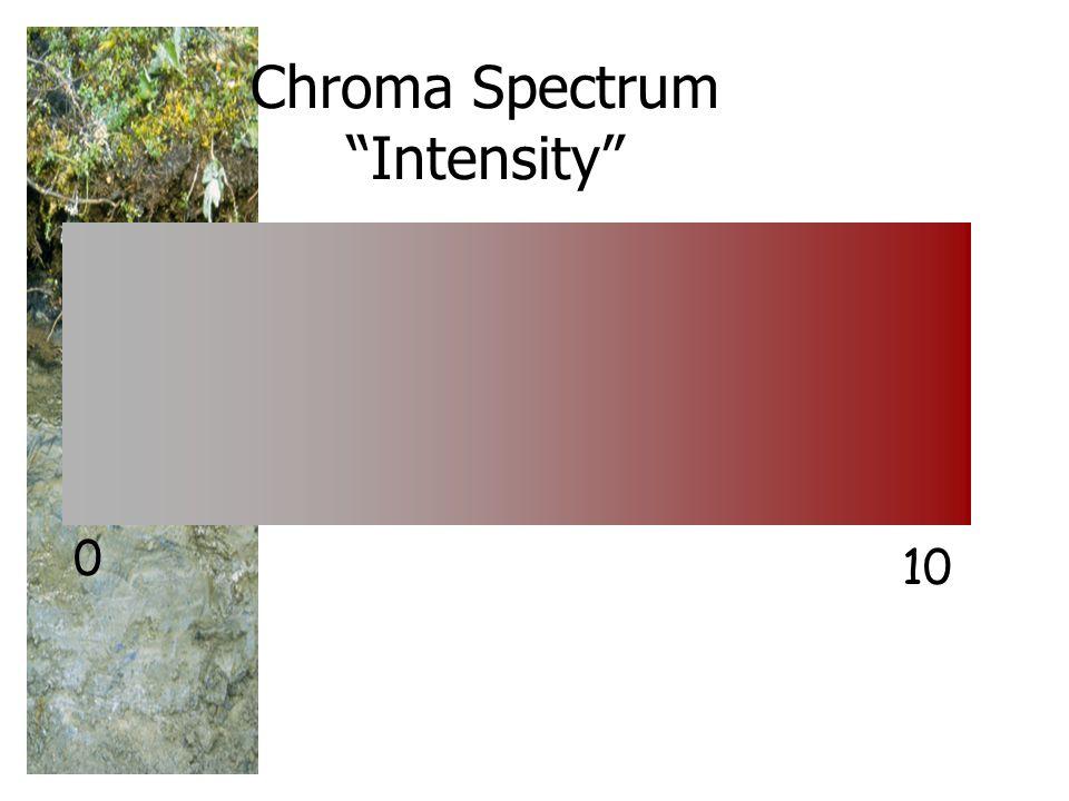 Chroma Spectrum Intensity 0 10