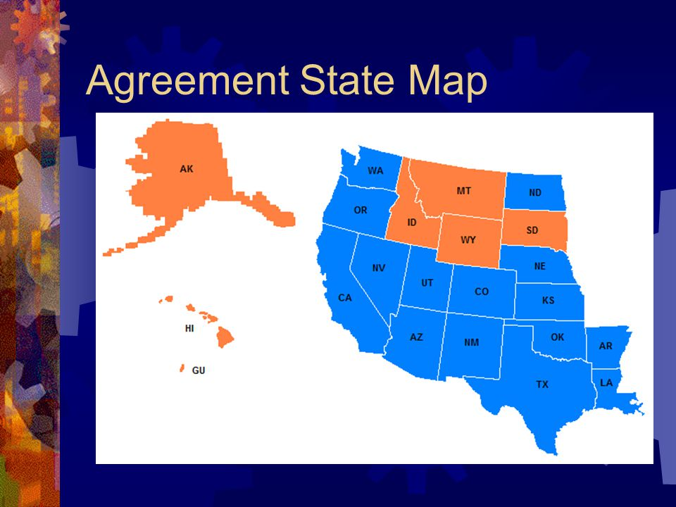 Agreement State Map