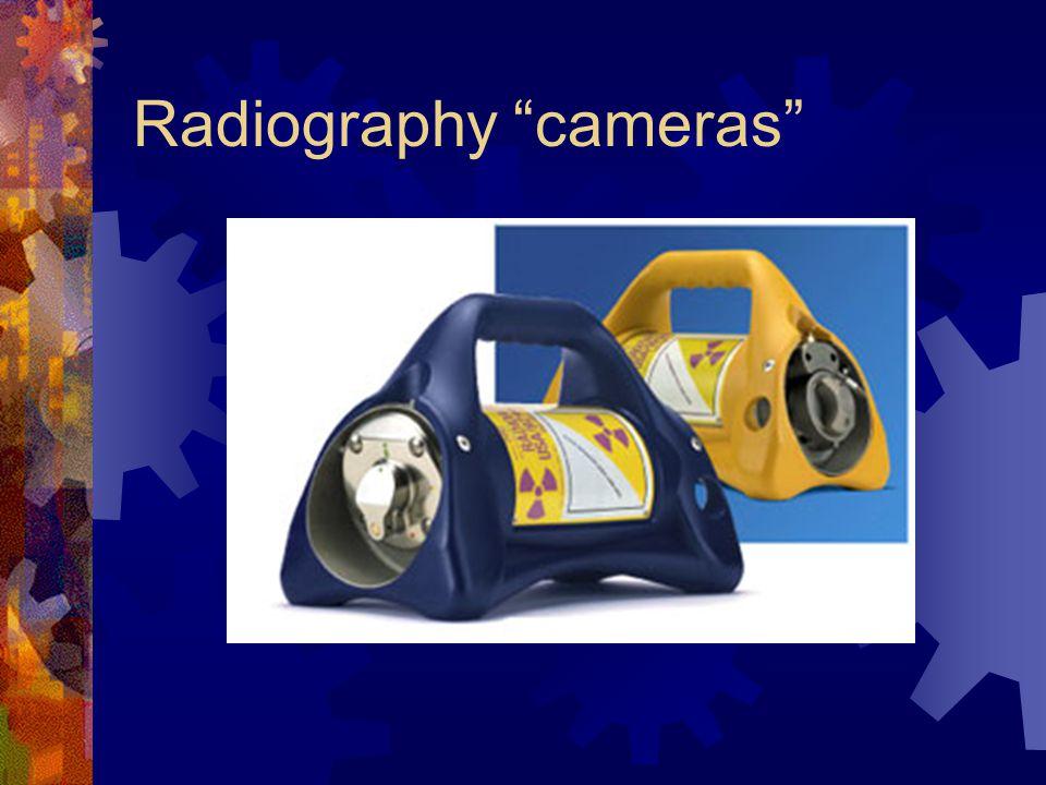 Radiography cameras