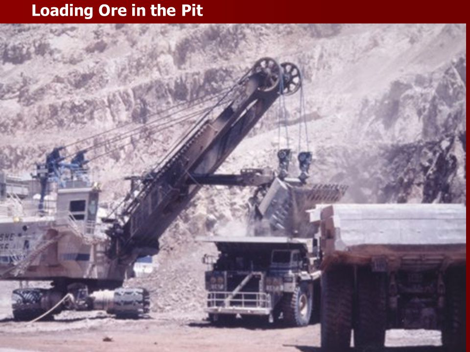 Loading Ore in the Pit