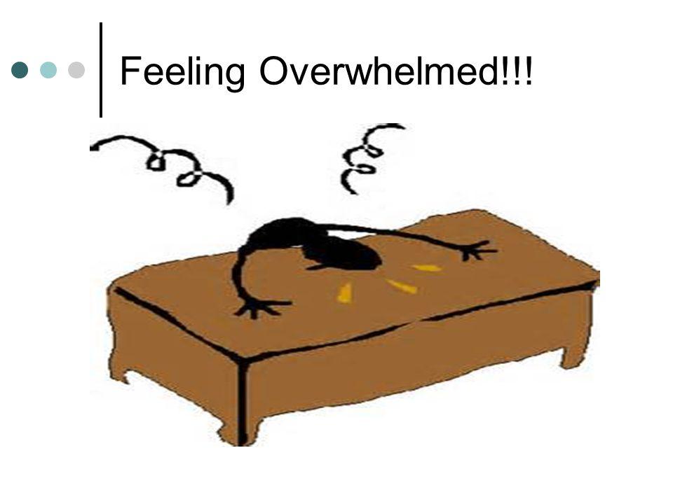 Feeling Overwhelmed!!!