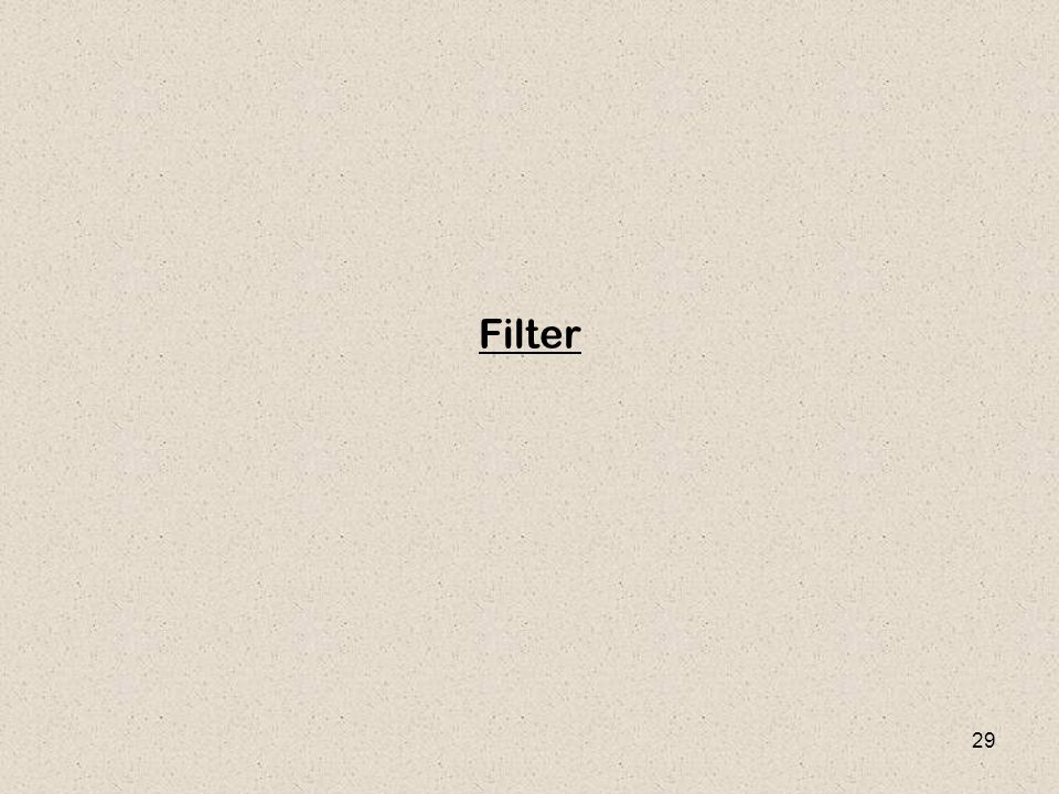 29 Filter