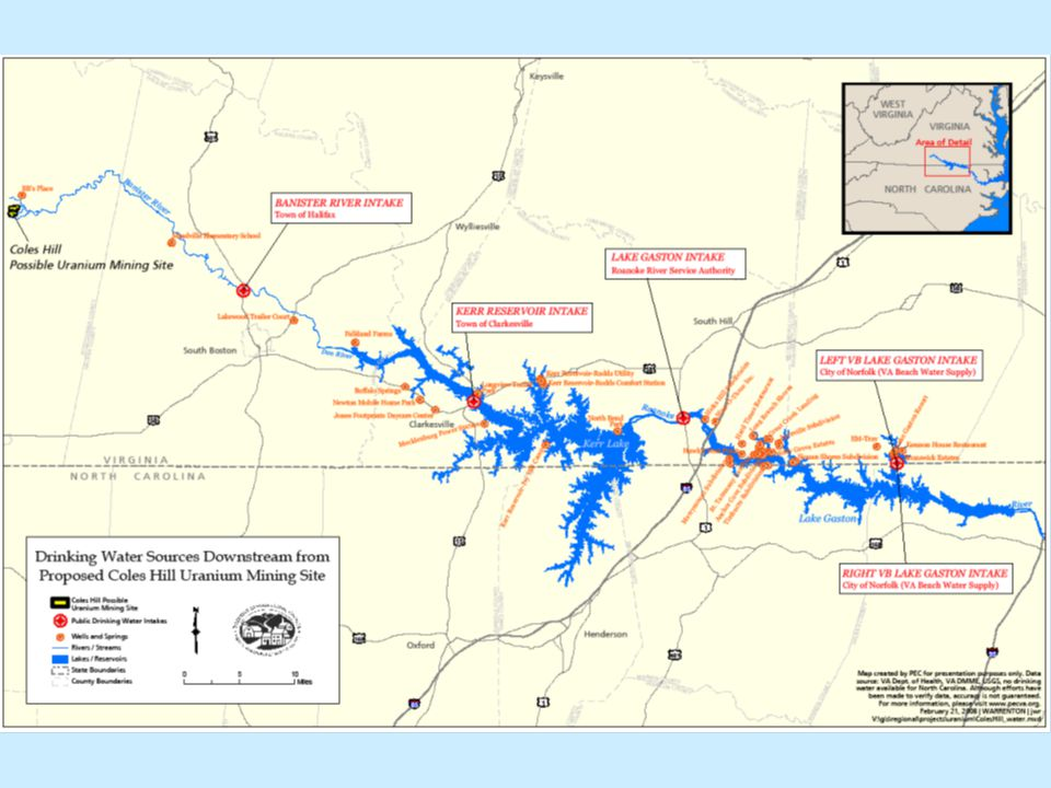 Why Maintain a Moratorium.No state east of the Mississippi allows uranium mining.