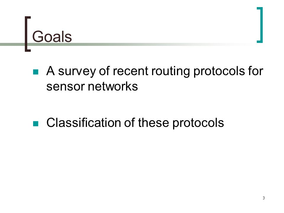 44 Hierarchical Protocols The architecture requires addressing  Sensor identified by the router is connected to Algorithm for Self-Organizing & Creation of routing table  Discovery phase  Organization phase  Maintenance phase  Self-reorganization phase Utilizes router nodes to keep all sensors connected by forming a dominating set