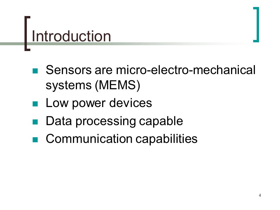 25 Data-centric Protocols Constrained Anisotropic Diffusion Routing (CADR)  General form of Directed Diffusion  Query Sensors  Route data in the network  Activates sensors close to the event and dynamically adjusts routes  Routing based on a local information/cost gradient  More energy efficient than Directed Diffusion