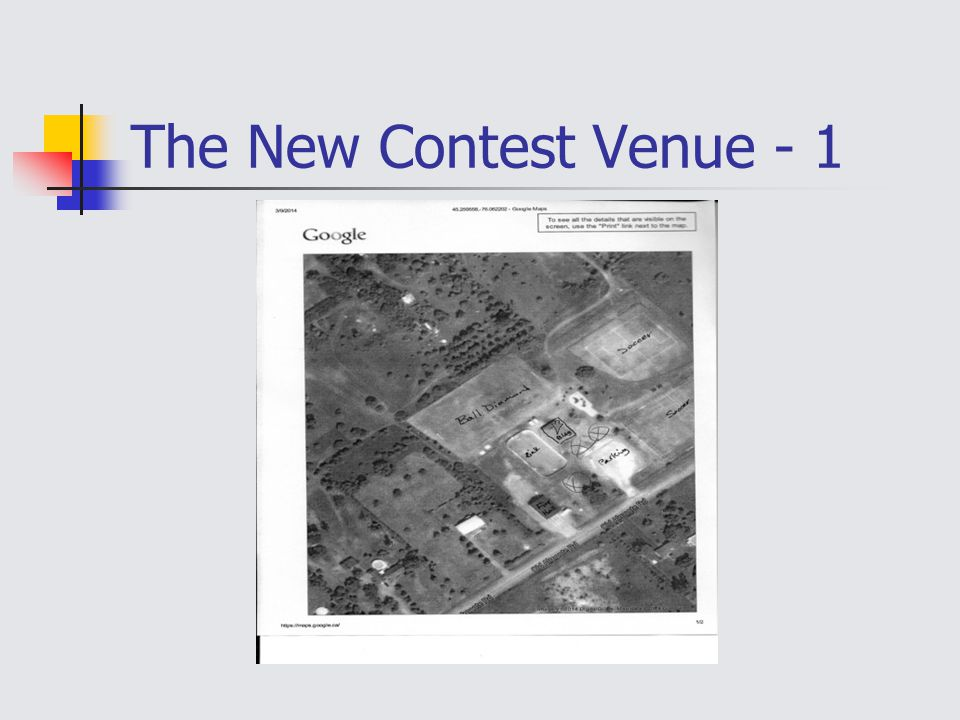 The New Contest Venue - 1