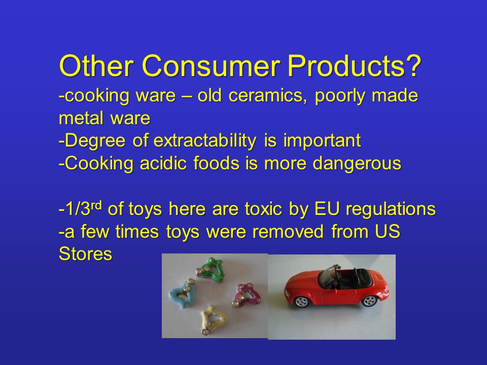 Other Consumer Products.