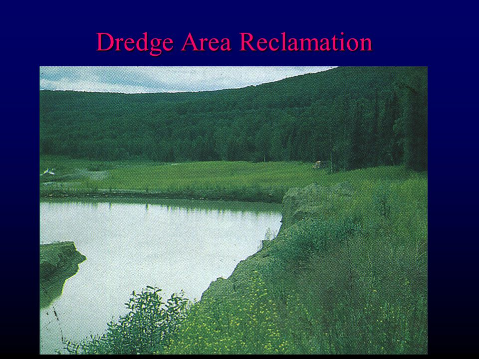 Dredge Area Reclamation