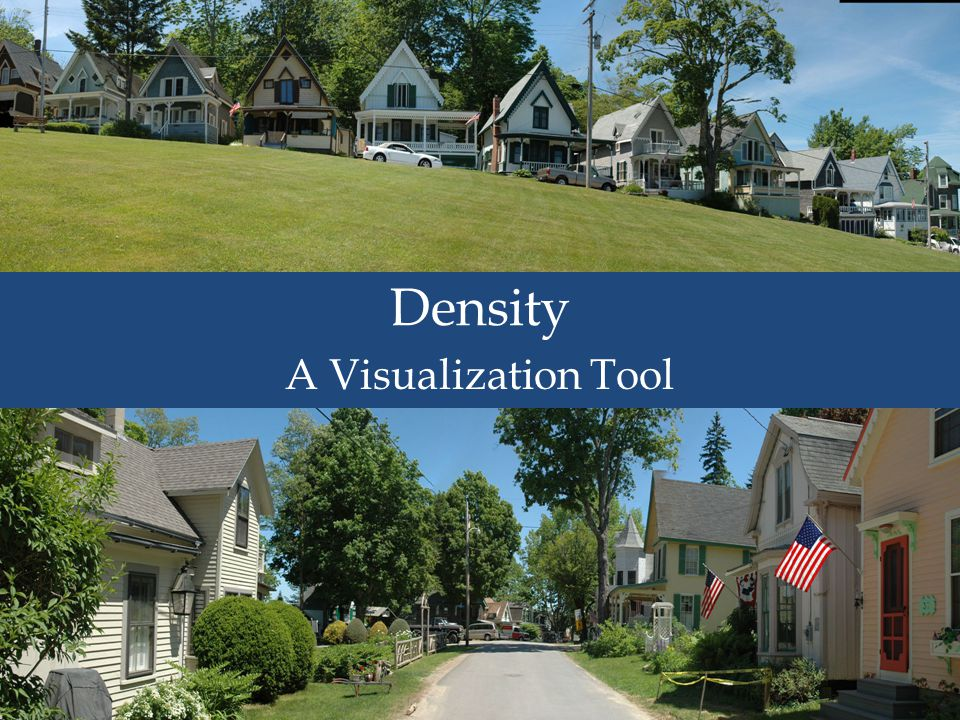 Typical Lot size Density A Visualization Tool
