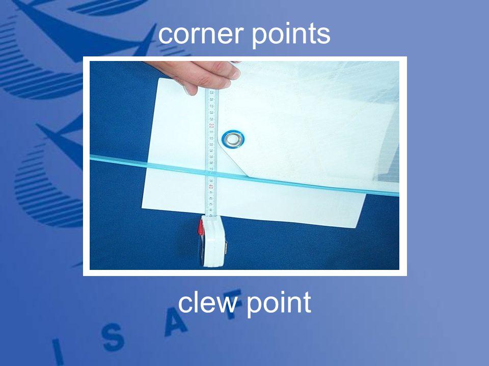 3 corner points clew point