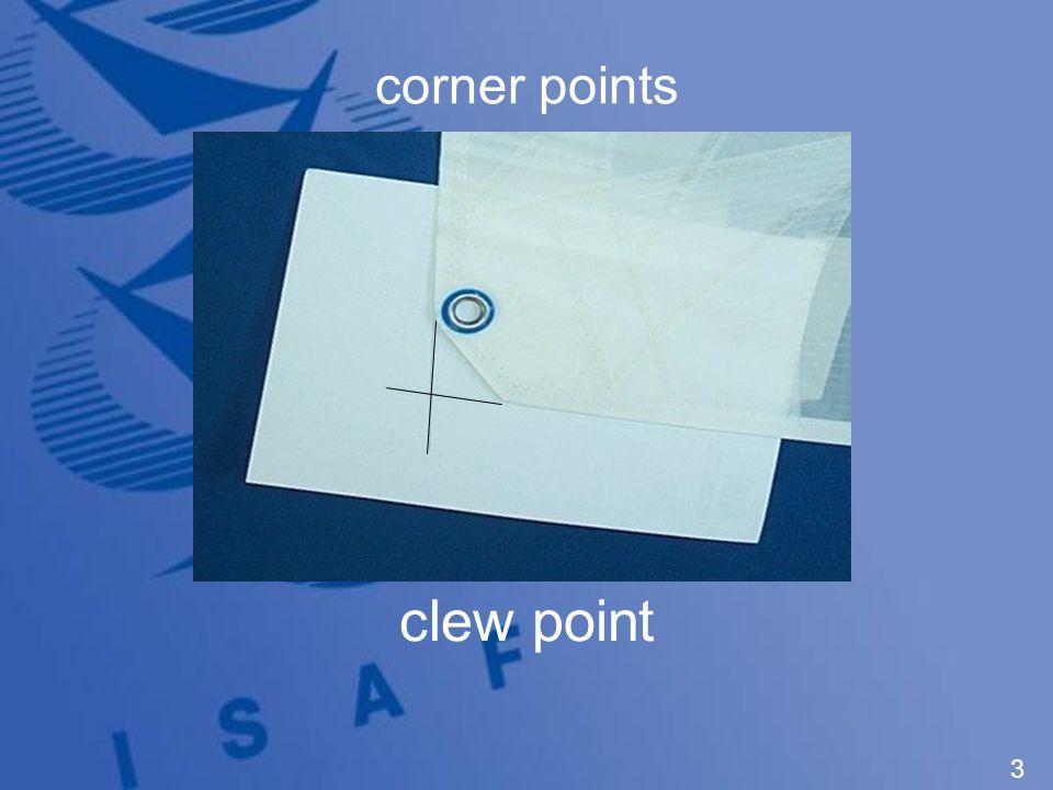 corner points tack point