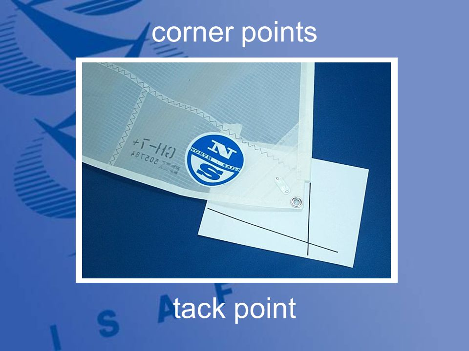 corner points tack point