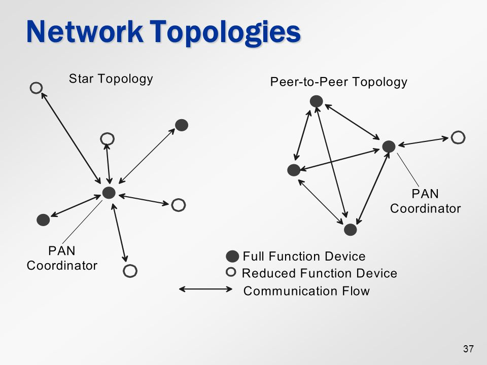 37 Network Topologies