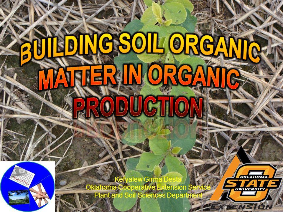 Organic Matter MATTERS!