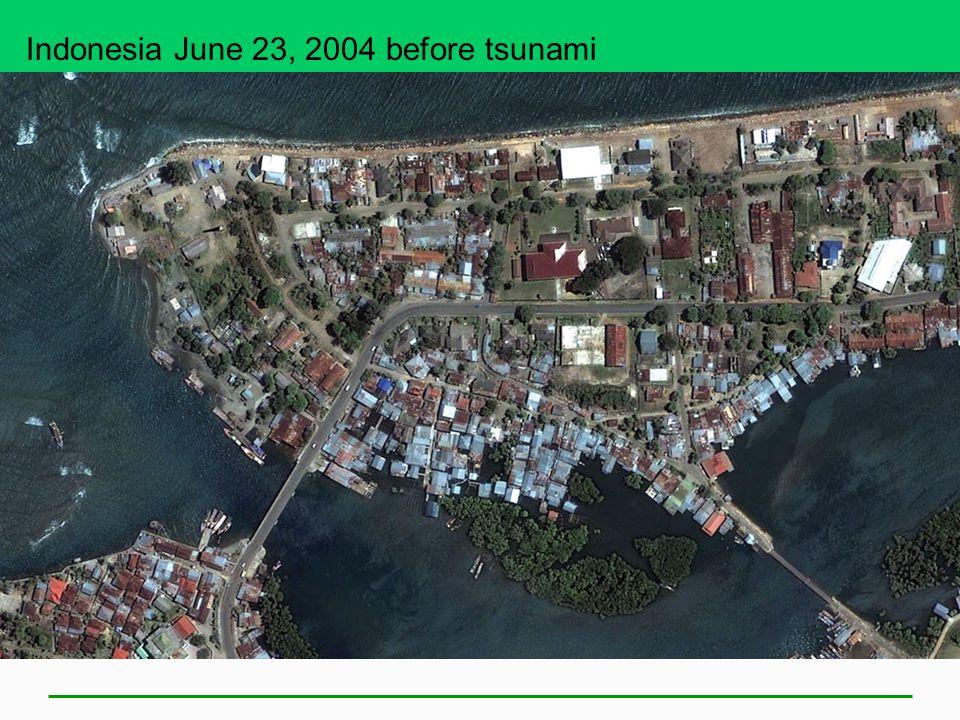 Indonesia June 23, 2004 before tsunami