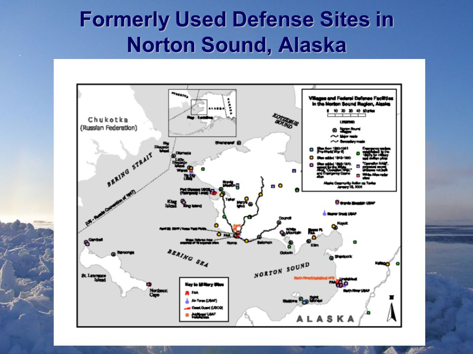 Formerly Used Defense Sites in Norton Sound, Alaska
