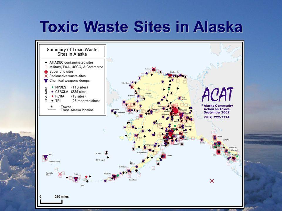 Toxic Waste Sites in Alaska