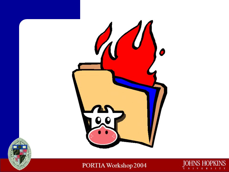 PORTIA Workshop 2004