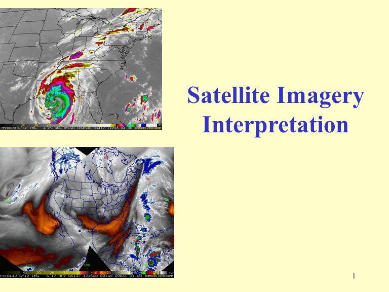 1 Satellite Imagery Interpretation