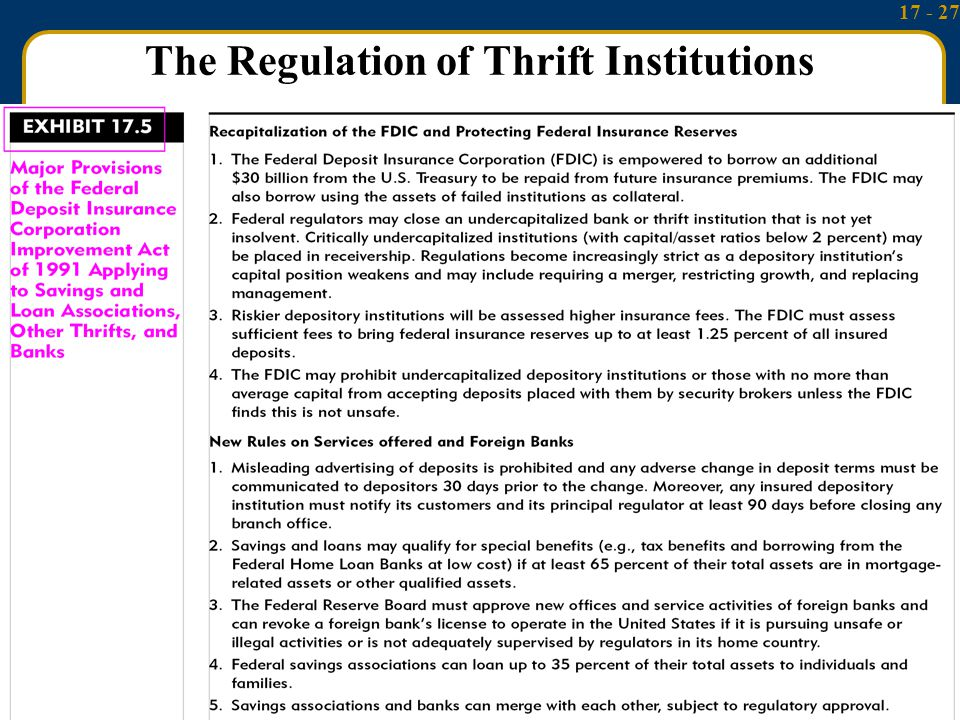 17 - 27 McGraw-Hill/Irwin Money and Capital Markets, 9/e © 2006 The McGraw-Hill Companies, Inc., All Rights Reserved.