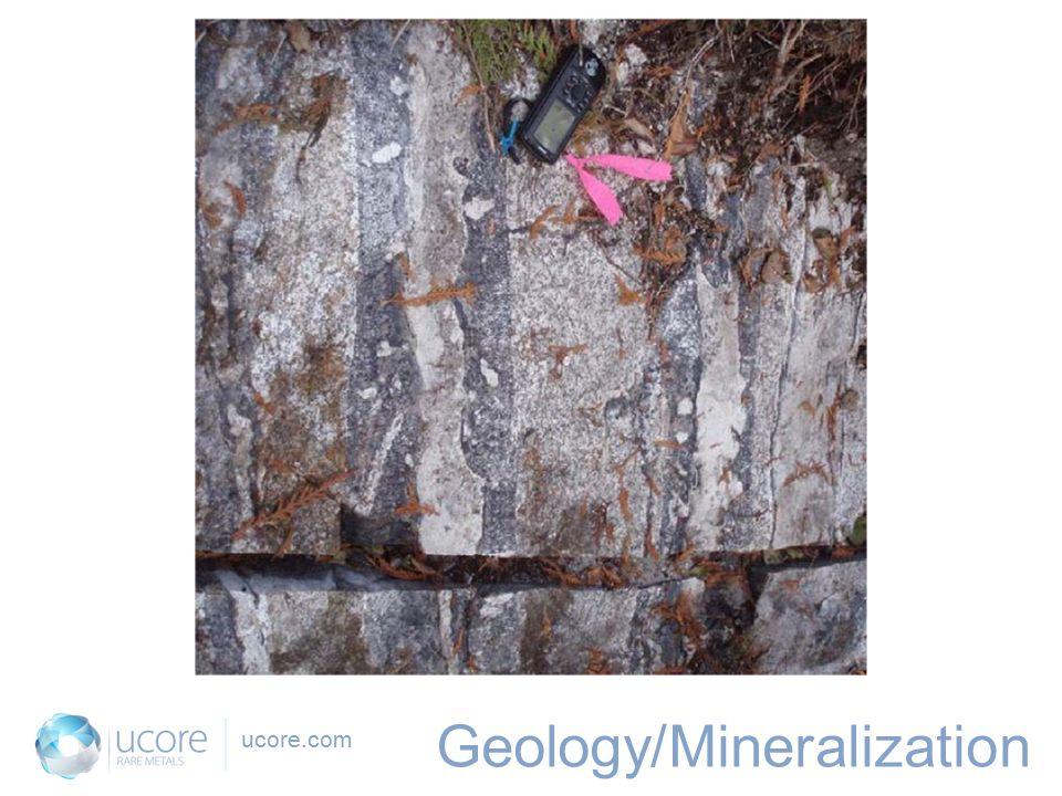 ucore.com Geology/Mineralization