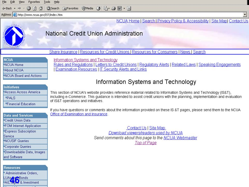 ID Management in Financial Services – May 2005 46
