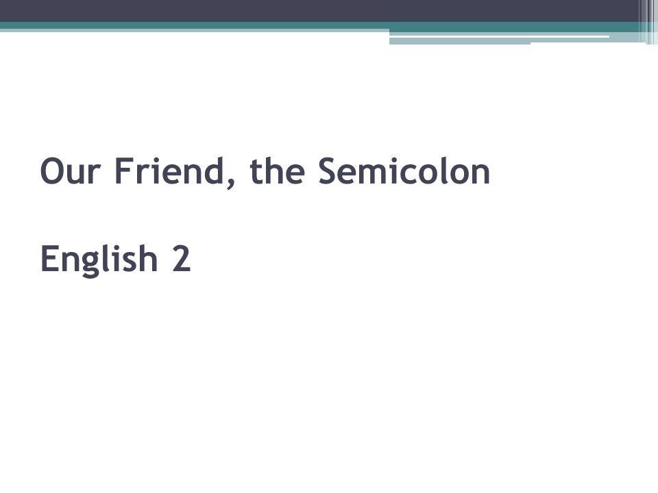 Semicolon Rule #4 Rule 12d: Use a semicolon between items in a series that contain commas.