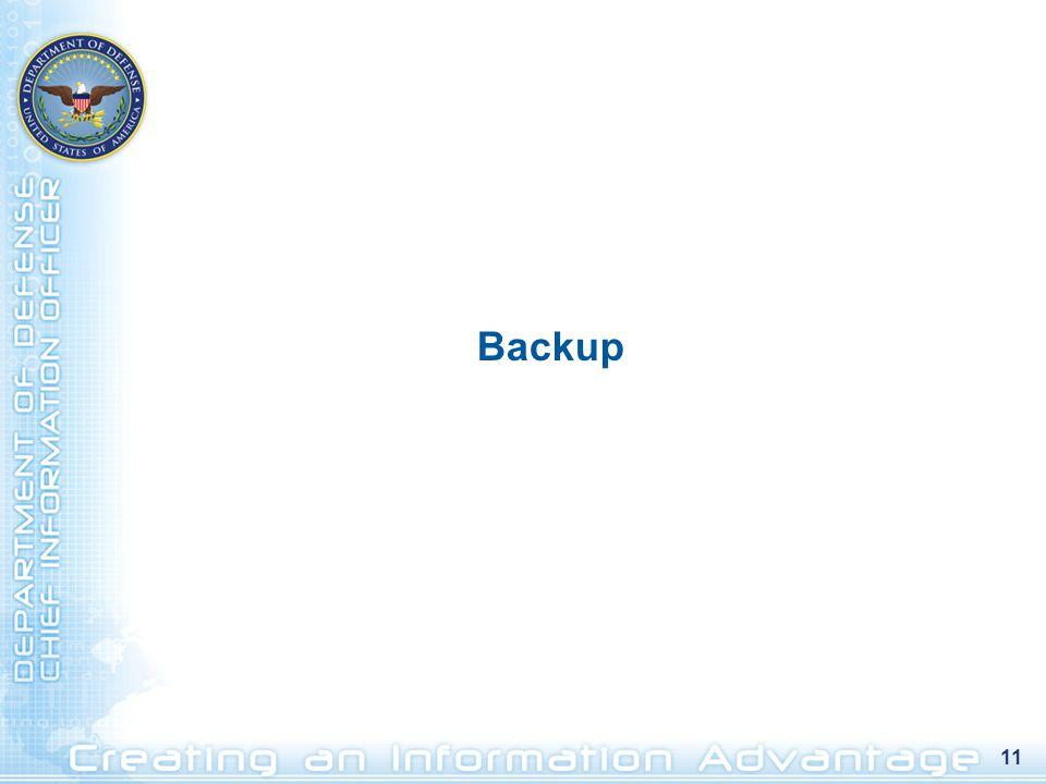 11 Backup